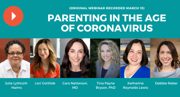 A Special Episode on Parenting in the Age of the Coronavirus